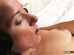 slit gobbling and stiff romping with amateur duo