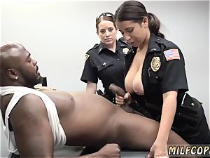 Jane darling multiracial ass-fuck gonzo cougar Cops