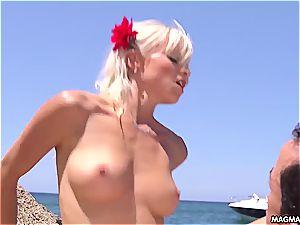 German goddess Mia Magma getting ate and boinked
