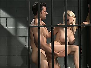 Jailhouse rock with Lexi who loves to swallow