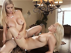 lezzy party with Alexis Fawx and Kylie Page