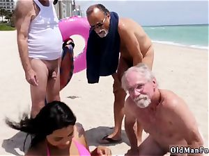 blondie gang-bang elderly very first time Staycation with a latin bombshell