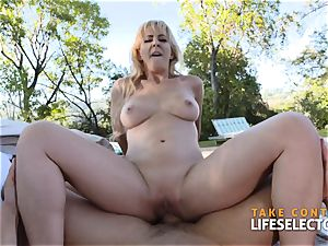 Cherie Deville - mischievous cougar plowed rock-hard