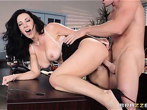 secretary Jayden Jaymes penetrates on the bosses desk