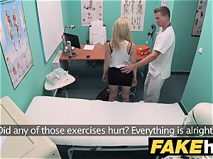 fake health center puny towheaded Czech patient health test