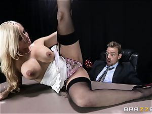 filthy boss is given a doable buttfuck wish by Britney Amber