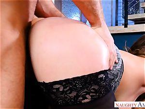 Natasha adorable toying with 2 boners