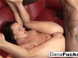Dana gets bum screwed by a ample ebony salami