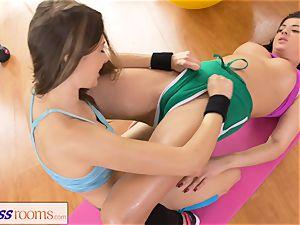 sport rooms Rampant hairless vagina lesbians having sex