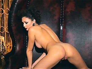 slender small Ariana Marie killer rubber solo onanism
