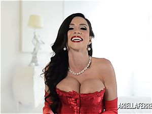 molten yam-sized titty Ariella Ferrera Interview