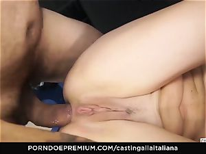 audition ALLA ITALIANA - new-comer anal invasion gape and boink