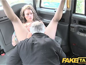 faux taxi Backseat excites for cab drivers