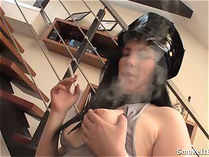 Police office smokey bj