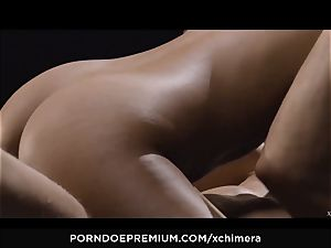 xCHIMERA - softcore fetish sex with ebony Luna Corazon