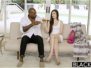 BLACKED very first multiracial For Pretty gf Zoe sausage