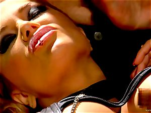 Shyla Stylez takes this rigid pecker deep in her taut donk