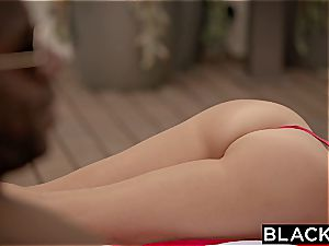 BLACKED hotwife cougar Brandi likes first ample dark-hued man meat