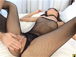 Fhuta - tramp Tina Weiss Gets double smashed