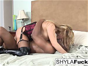 Prince produces a dark-hued boner For Shyla