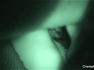 Night vision humping with supah super-steamy Charley pursue