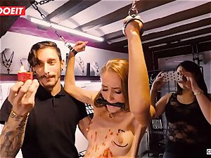 LETSDOEIT - Kira Gets rough torture at sadism & masochism party
