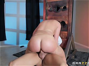 rectal is on the menu for Maddy OReilly