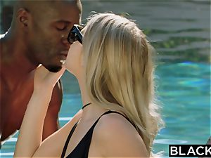 BLACKED.com blond Gets first-ever bbc from Brothers acquaintance