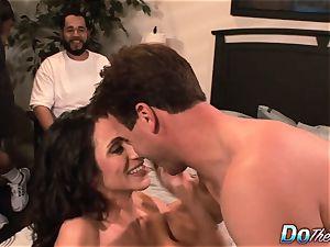 cuckold wife Ariella Ferrara shag boy