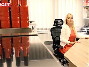 LETSDOEIT - scorching secretary humped hardcore At audition
