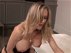 Brandi love nails a guy in trendy sundress