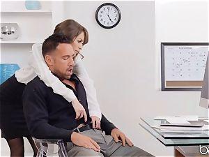 Kimmer Granger sits on Johnnys man sausage