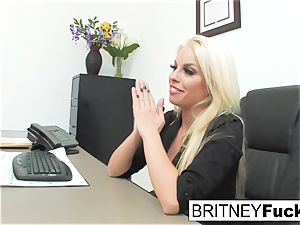 Britney Amber bangs For The Job