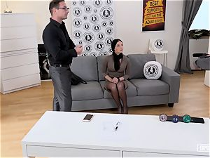 revealed casting - molten intercourse audition with Slovak stunner