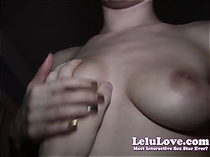 calmly pov fucking right next to wife in couch