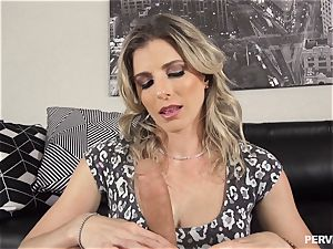 Stepson doesnt hold back slamming his sausage into mummy Cory chase