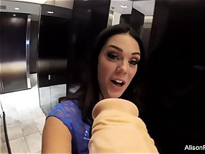 stupid pov joy with Alison Tyler and a dildo
