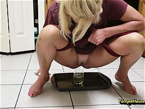 mommy Might Be urinated with Ms Paris Rose