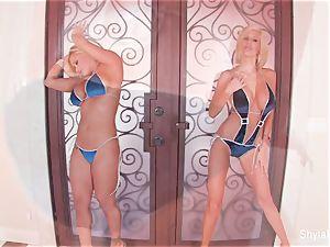 huge-titted blondes Shyla