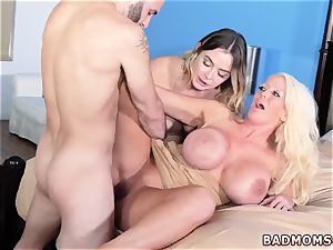 mommy and mate s crony bikini first time Stepmoms tiny Helper