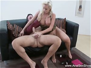 euro mummy Needs rock hard jizz-shotgun Up Her bulls eye