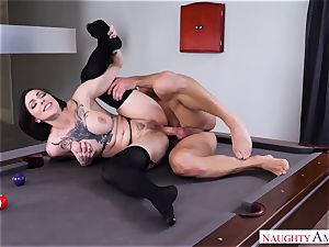 bitchy tattooed honey Harlow Harrison entices her husband's finest mate