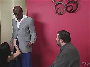 mischievous wife Nadia Styles gets interracial pounding