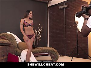 SheWillCheat - super-fucking-hot asian wife rode By bbc