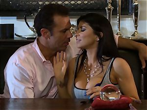 Romi Rain is thanked with a huge lollipop screwing