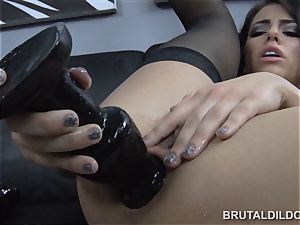 epic Adriana Chechik brutal faux-cock blooming