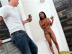 Sarah Banks gets pummeled in the douche