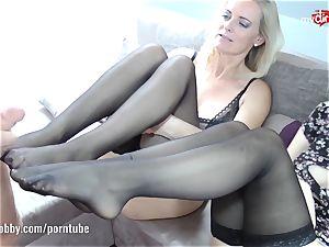 My dirty leisure activity - DirtyTina goes sloppy trio ways!