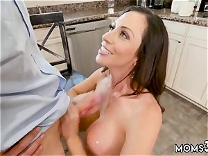 Step mummy undress and ass-fuck drill Borrowing Milk From my Neighbor