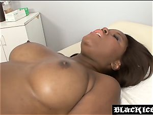 enormous donk ebony doggystyled by her doc